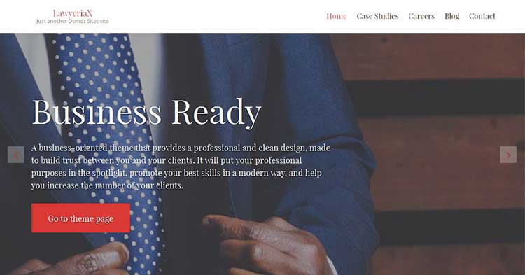 Lawyeriax Attorney WordPress Theme