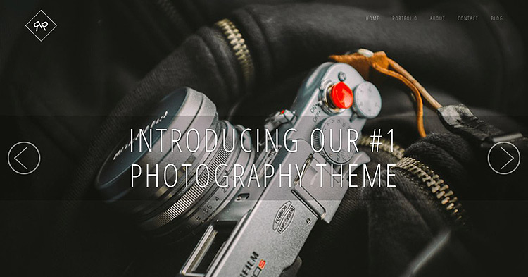 Rokophoto Pro Photography WP Theme