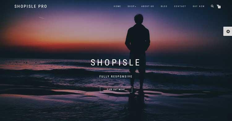 ShopIsle Pro eCommerce WordPress Theme