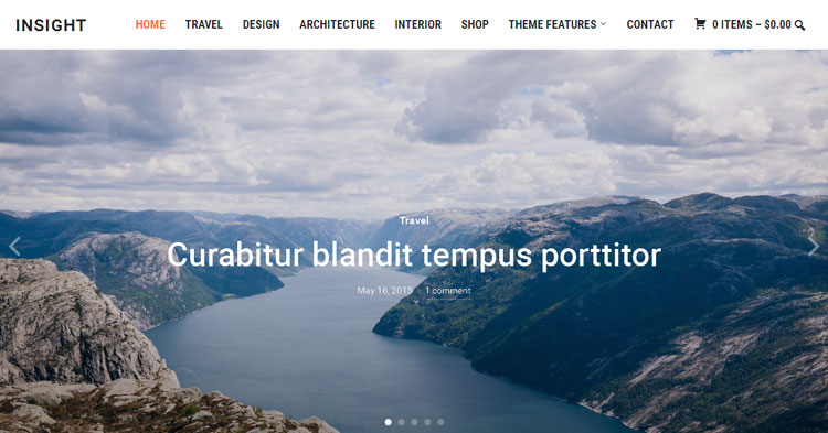 Insight Magazine WordPress Theme