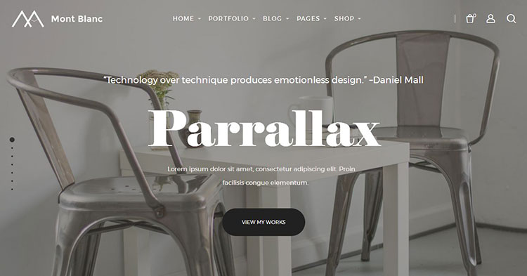 Mont Blanc Multipurpose WordPress Theme