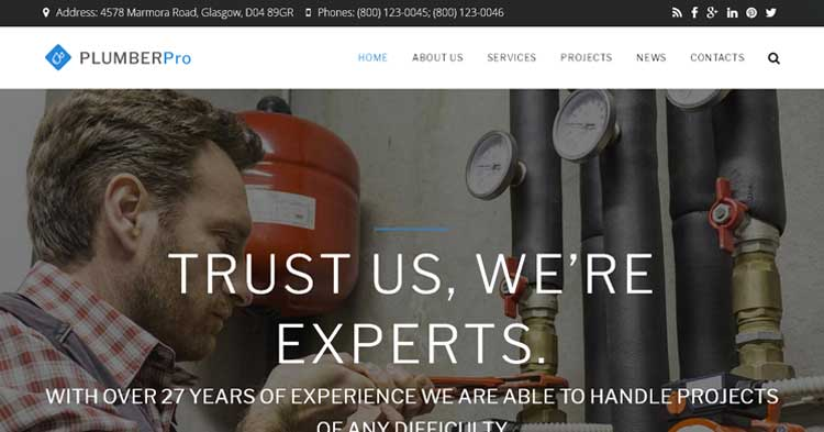 Download Plumberpro Plumbing Drupal Theme
