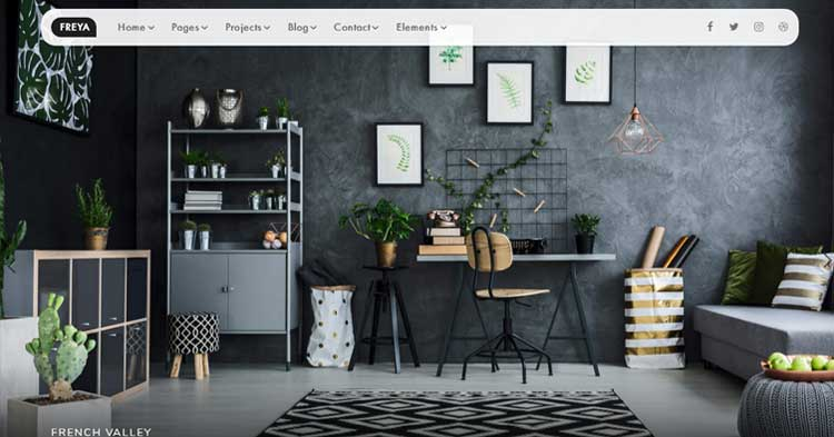Download Freya Interior Design Bootstrap Template