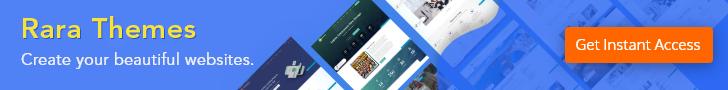 RaraThemes - Join WordPress Theme Club