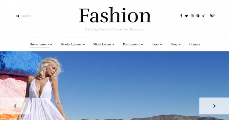 Download Blossom Fashion Pro WordPress Theme