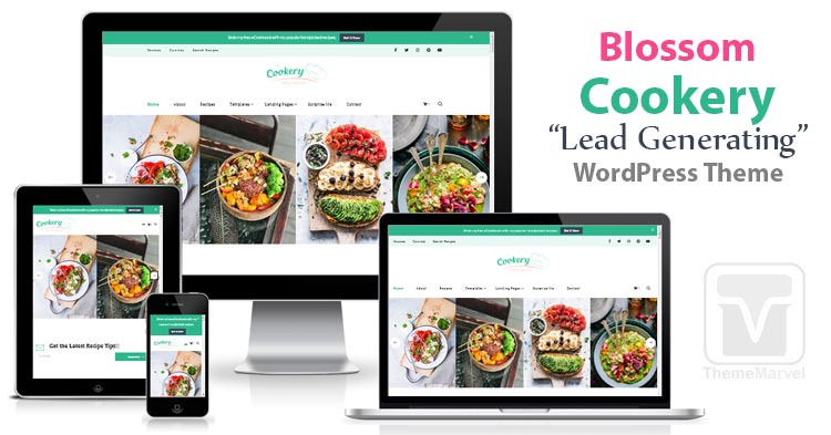 Download BlossomThemes - Blossom Cookery WordPress Theme for Food Bloggers, Food Blogs, Recipe Blogs