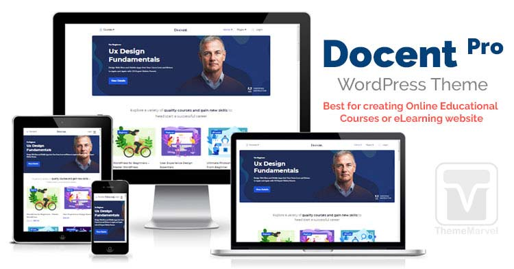 Themeum - Download Docent Pro - LMS theme for solo / single instructors