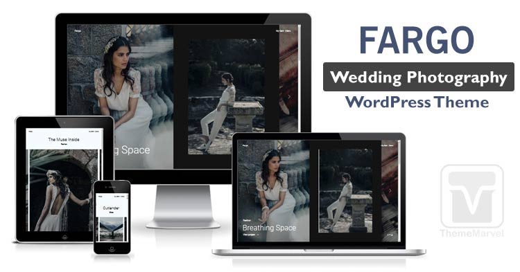 Fargo - Wedding Photography Portfolio WordPress theme download