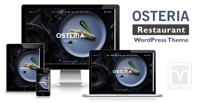 Osteria - restaurant / cafe WordPress theme