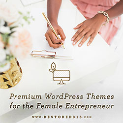Restored316Designs Feminine WordPress Themes