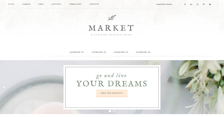 Market Theme for Women Entrepreneurs
