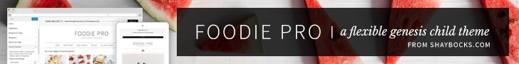 StudioPress - Foodie Pro Theme