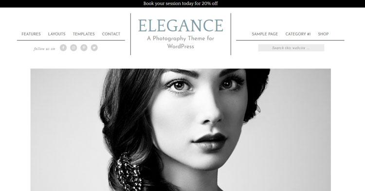 Elegance Pro WordPress Theme