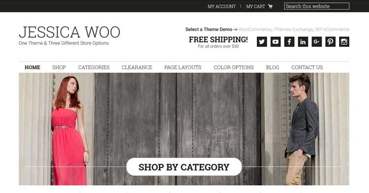 Download Jessica eCommerce WordPress Theme