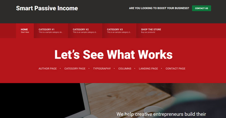 Download Smart Passive Income Pro WordPress Theme