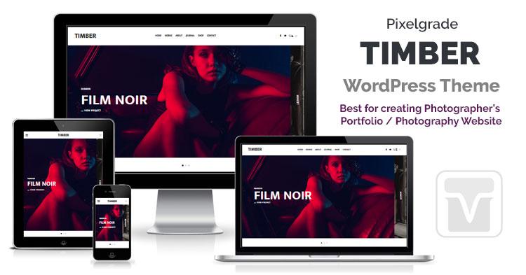 Download Pixelgrade - Timber Photography Portfolio WordPress theme for professional photographers