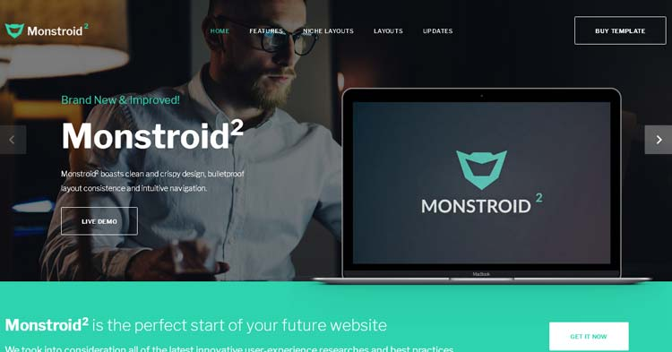Monstroid2 Multipurpose Web Template