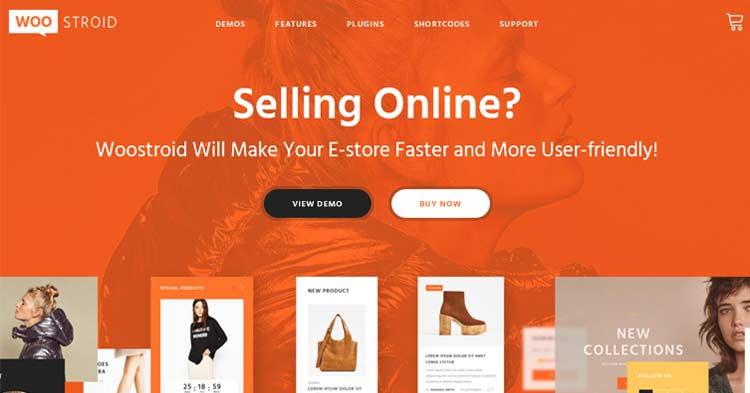 Woostroid eCommerce WordPress Theme